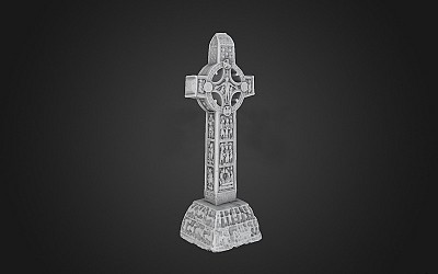 Cross of the Scriptures, Clonmacnoise
