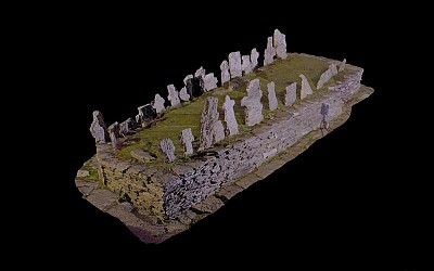 Monk's Graveyard, Skellig...