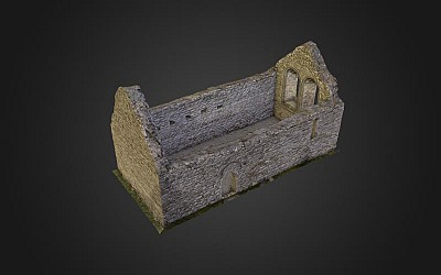 Temple Melaghlin, Clonmac...